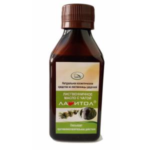 Масло лиственничное «Лавитол» с экстрактом чаги